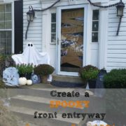 Easy Halloween Front Door Decor on a Budget