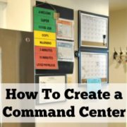 How to Organize and Create a Command Center