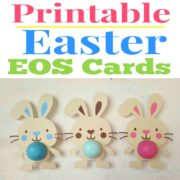Easter and St. Patrick's Day EOS Lip Balm Cards