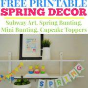Free Printable Spring Decor