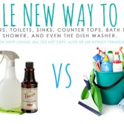 Green and Clean with Young Living Essential Oils