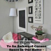 How We Gave Purpose To An Awkward Corner Space In Our Home – Creating a Reading Nook