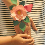 Handmade Mother's Day Paper Flower Corsage in 5 Easy Steps