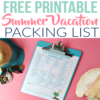 The Ultimate Summer Vacation Packing List (for Families with Little Ones)