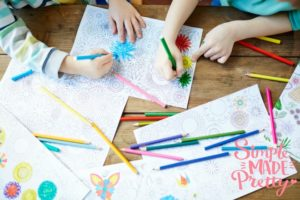 How to Organize Kid's School Artwork and Projects