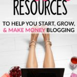 I had no idea what I was doing with my WordPress blog and these blogging resources were a life saver! She has blogging checklists and cheat sheets that helped mestart making money working at home as a beginner blogger. Her step by step instructions saved me so much time and frustration setting up my blog!