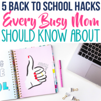 5 Genius Hacks to Create a Stress-Free Back to School Routine