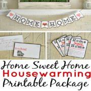 Home Sweet Home Housewarming Printable Package