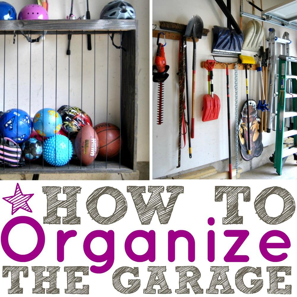 How to Organize a Garage that is Filled with Clutter