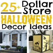 25+ Halloween Decor Ideas from the Dollar Store