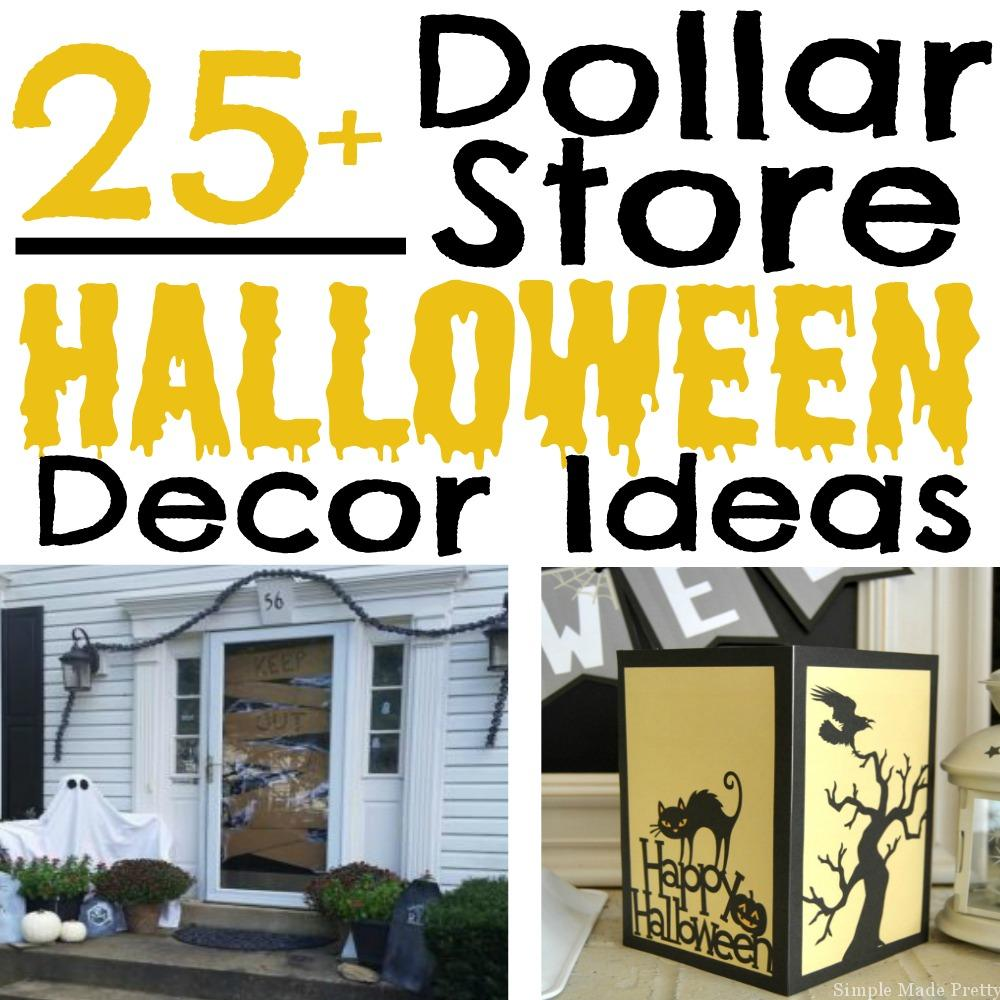 25+ Halloween Decor Ideas from the Dollar Store - Simple Made Pretty