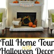 DIY Fall Home Decor Ideas with Halloween Decorations