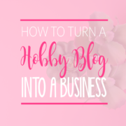 The Secret to Turn Your Hobby Blog into a Money-Making Business