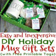3 DIY Holiday Mug Gift Sets That Look Expensive