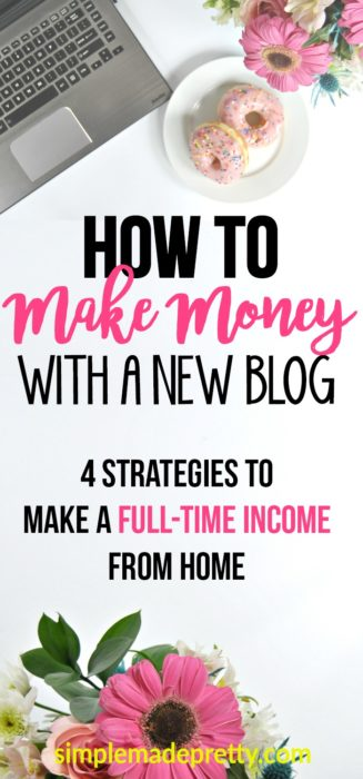 Read this article and you can start to make money blogging as a beginner by following her tips! I started blogging for money so I could be a stay at home mom and earn extra cash and this post gave me ideas on how to get started with a blog and make money at home online.
