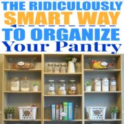 How to Organize and Simplify Your Kitchen Pantry
