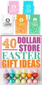 Check out these 40 DIY Dollar Store Easter Gift Ideas so you can save some money on Easter gift ideas, easter basket gift ideas, easter basket diy gifts, DIY easter basket gifts, dollar store easter gifts, Dollar Store Easter basket ideas, Dollar Store Easter crafts tutorial, dollar store easter basket ideas children, simple Easter basket ideas, Easter basket ideas DIY, creative Easter basket ideas, how to make Easter baskets, toddler Easter basket ideas