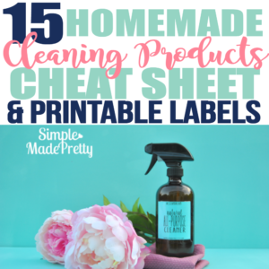 15 Cleaning Products You Can Make That'll Save You So Much Money