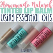 DIY All-Natural Tinted Lip Balm Every Girl Should Know About