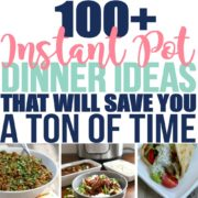 100+ Cheap and Easy Instant Pot Dinner Ideas that will Save You a Ton of Time