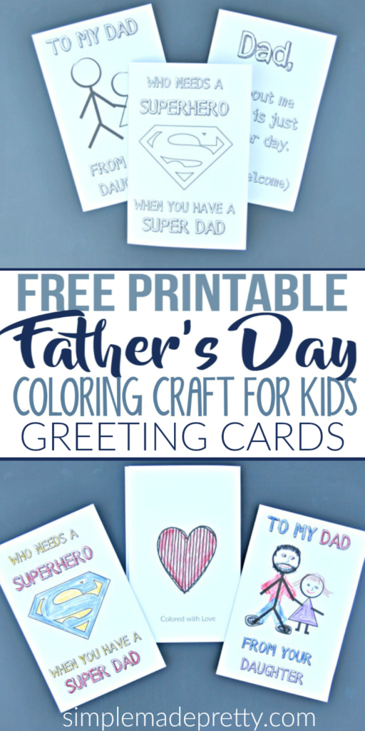 We Had So Much Making These Fathers Day Crafts For Kids It Was The Perfect Have You Notice That Greeting Cards