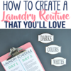 The Secret to Loving Laundry Day | Create a Stress-Free Laundry System with Free Printables