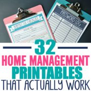 32 Home Management Printables That Actually Work