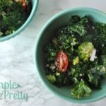 This 5-Minute Healthy Kale & Quinoa Salad is one of my favorite clean eating recipes! I've made this salad in a hotel room (that was equippedwith a mini fridge and microwave) and my family was able to eat a little bit healthier while on vacation.