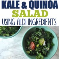 5-Minute Healthy Kale & Quinoa Salad