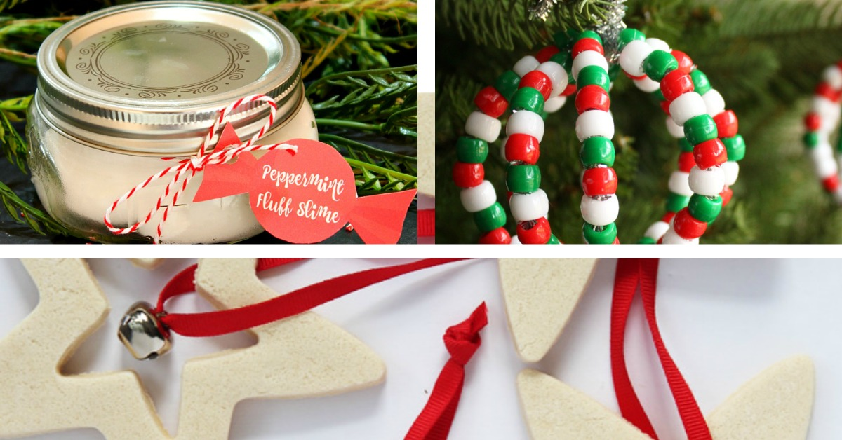 24 Easy Christmas Craft Gift Ideas for Kids to Make - Simple Made Pretty