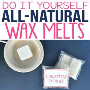 DIY All-Natural Wax Melts