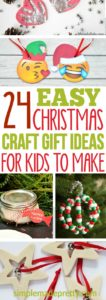 I love these Christmas craft ideas for kids that are easy! My children loved these DIY craft ideas and made the hand prints ornaments to give to their grandparents for a holiday gift to hang on their Christmas tree. There's also a recipe for slime which my kids plan to make for their friends and would be cute stocking stuffers for kids!