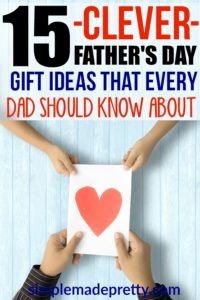 Love these Father's Day gift ideas from wife! These Father's Day gift ideas are the perfect father's day gifts from kids too. Father's Day crafts   Father's Day   Father's Day Ideas   New Dad   Gifts for Dad   Gift ideas for Men   Gift Ideas for boyfriend   Daddy   First Father's Day