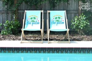 DIY Personalized Outdoor Lounge Chairs