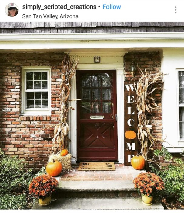 Fall Porch Decorations Decorating Ideas