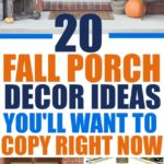 Thesefall porch decorations are easy to replicate and these fall outdoor decorating ideas will inspire you to decorate your front porch for fall! Most of these fall porch ideas feature pumpkins, fall colors, fall fabrics, fall flowers, and other fall porch decorating ideas to give you inspiration for your home! fall decor ideas diy dollar stores   fall decor ideas diy front doors   fall decor ideas diy autumn   fall decor ideas for the home   fall decor ideas for the porch   rustic fall decor ideas   rustic fall decor ideas for the porch   rustic fall decor ideas for the porch #falldecor #pumpkindecor #pumpkinspice #fallporchideas #fallfrontporch #fallporchdecor #fallporchideas