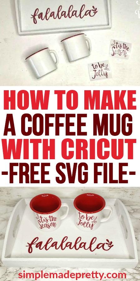 I've always wanted to learn how to use my Cricut to make DIY mugs! Cricut mug ideas, Cricut Mugs dishwasher safe, how to make Cricut mugs, Cricut vinyl on mugs, Cricut coffee Mugs, How to make a Custom Mug with Cricut, How to make a coffee mug with Cricut, Cricut Explore Air projects, making a mug with Cricut, using Cricut vinyl on mugs, Cricut vinyl, Cricut Christmas projects, Cricut Christmas gifts #cricutchristmas #cricutvinyl