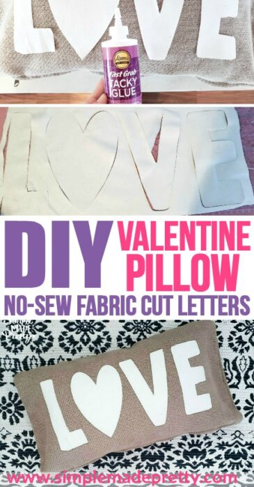 #5minutecraft with Cricut Maker Projects: Cutting Fabric Letters With Cricut! die cut fabric letters, cutting letters out of fabric, fabric letters, cutting fabric letters with Cricut, cutting letters out of fabric, Valentine's Day craft, Valentine Crafts, DIY Valentine's Day crafts, Valentines Day Crafts decor, Cricut Valentines Day Crafts