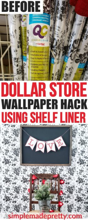 peel and stick wallpaper removable, Target peel and stick wallpaper, peel and stick wallpaper, Dollar Store shelf liner, floral peel and stick wallpaper, peel and stick wallpaper floral, peel and stick wood wallpaper, shiplap peel and stick wallpaper, peel and stick wallpaper for the bathroom, dollar store decor hacks, dollar store hacks DIYprojects, Dollar store shelf liner contact paper, Dollar store shelf liner shelves, DIY dollar store hacks