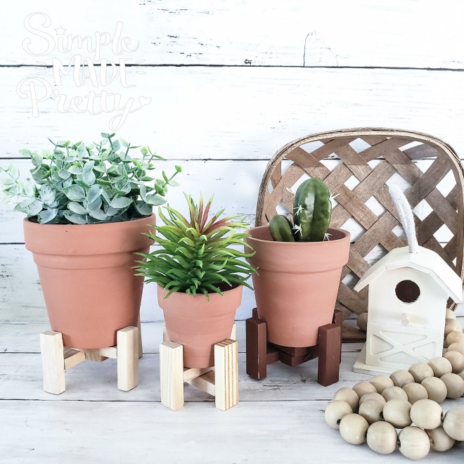 Diy Dollar Tree Plant Stands Simple