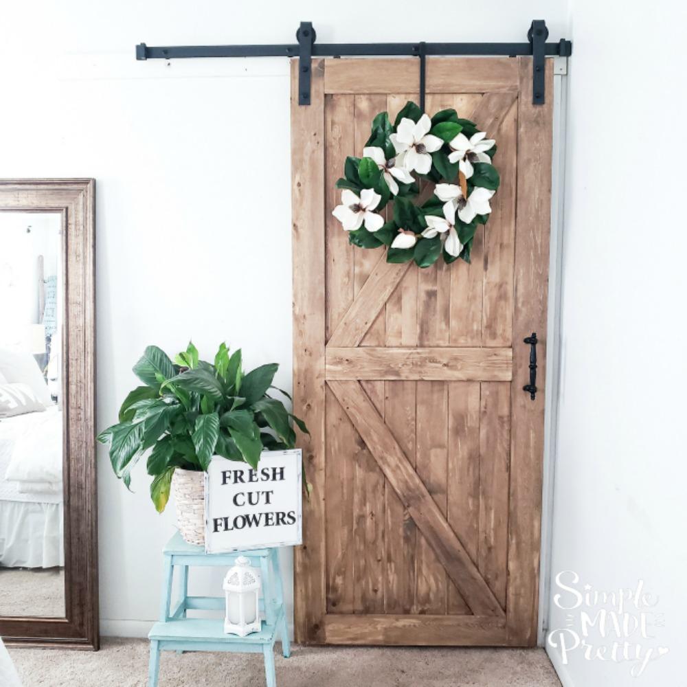Budget-Friendly Sliding Barn Doors For The Farmhouse Look