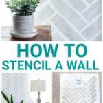 How To Stencil A Wall without bleeding,How To Stencil A Wall tutorials, How To Stencil A Wall bedrooms, How To Stencil A Wall border, DIYHow To Stencil A Wall, stencil patterns, stencil templates, how to put stencils on a wall, how to make a wall stencil, cutting edge stencils, herringbone stencil, cutting edge herringbone stencil, cutting edge herringbone brick stencil, stencil patterns DIY,stencil patterns farmhouse, stencil patterns ideas,stencil patterns for bedroom, herringbone brick stencil