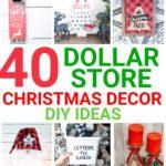 Dollar Store Christmas Decor DIY