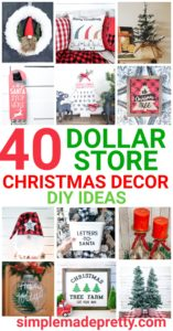 40 Diy Dollar Store Christmas Decorations Simple Made