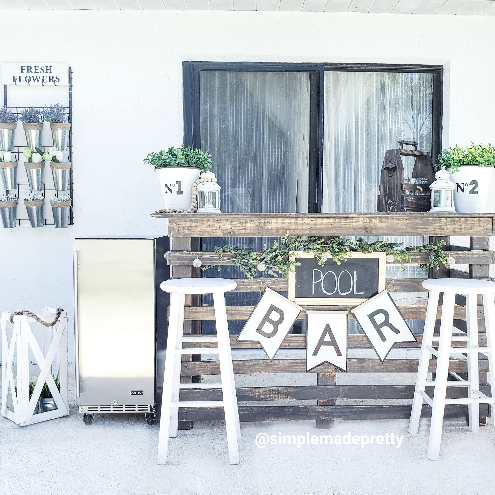 How To Build A Quick DIY Outdoor Bar
