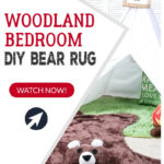 Woodland Bedroom DIY Bear Rug